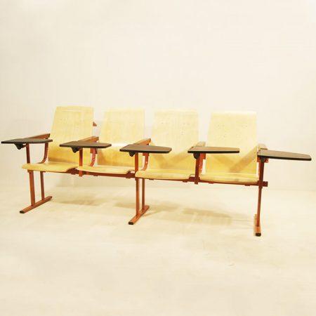 Кресло театральное КТ-6 с пюпитром