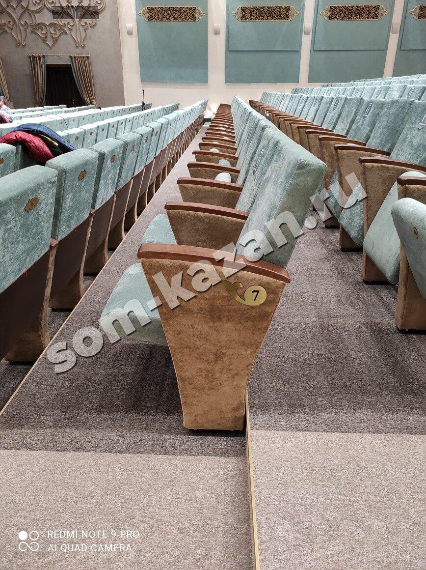 Театральные кресла для КЦ «Чулпан»
