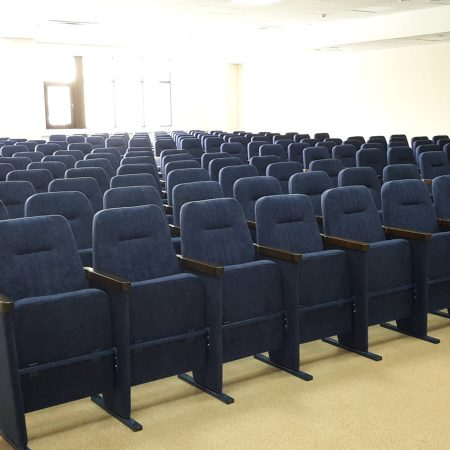 Кресло театральное КТ-1 для молодёжного центра Волга